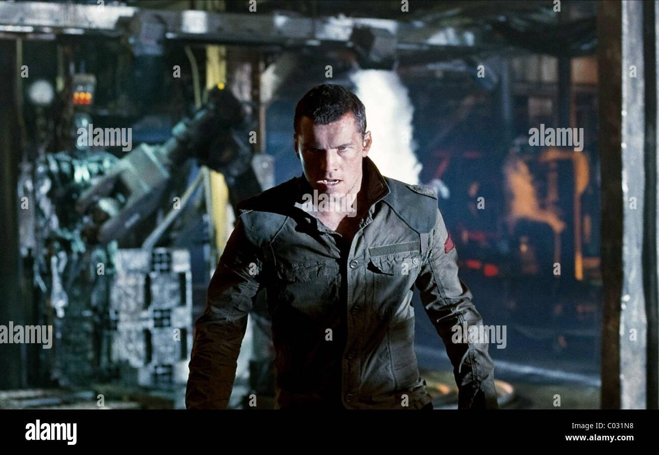 Sam Worthington Terminator Salvation 2009 Stock Photo Alamy