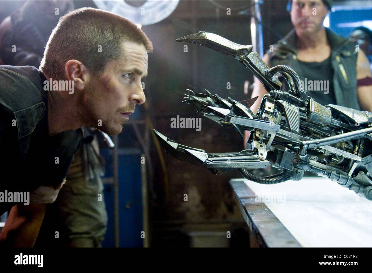 Christian Bale Terminator Salvation 2009 Stock Photo Alamy