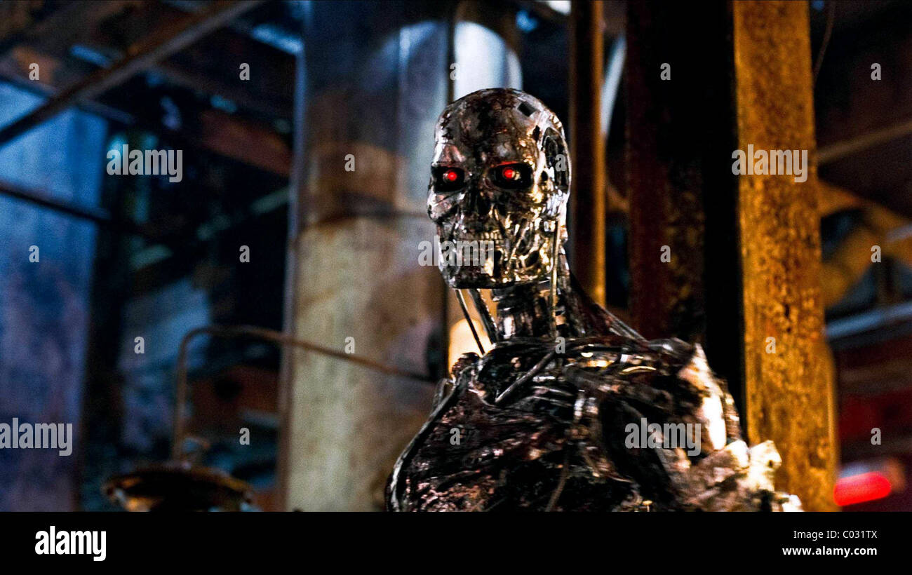 T-800 TERMINATOR TERMINATOR: SALVATION (2009) - Stock Image