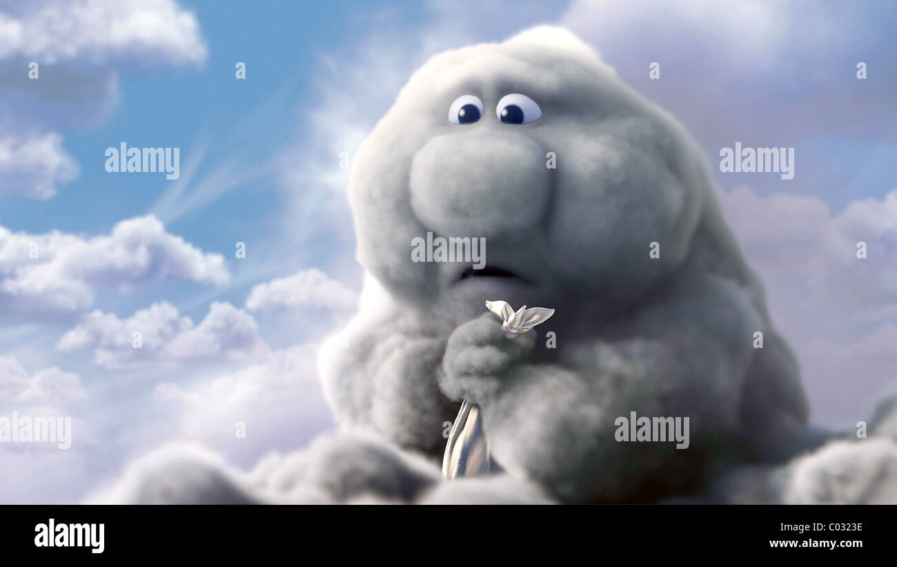 GUS THE CLOUD PARTLY CLOUDY (2009) - Stock Image
