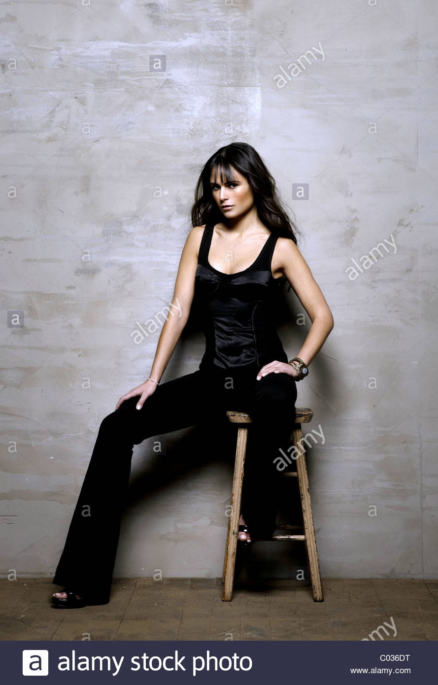 JORDANA BREWSTER FAST & FURIOUS; THE FAST AND THE FURIOUS 4 (2009) - Stock Image