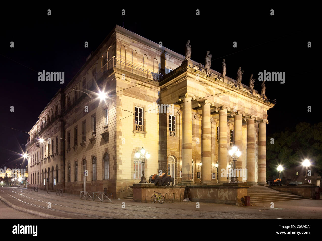 Alsatian Theater, Théâtre Alsacien, Strasbourg, Alsace, France, Europe - Stock Image