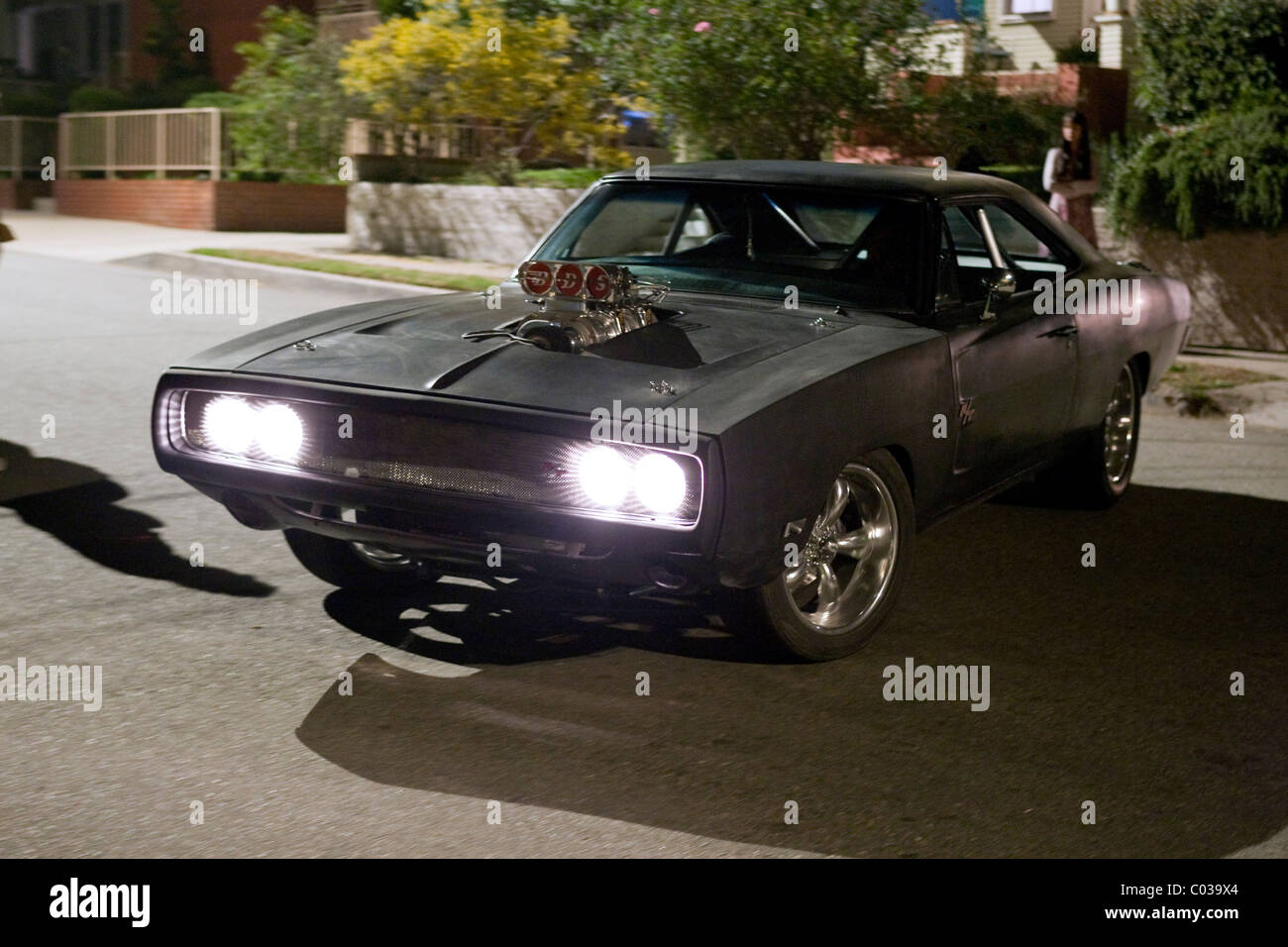1970 DODGE CHARGER FAST & FURIOUS; THE FAST AND THE FURIOUS 4 (2009) - Stock Image