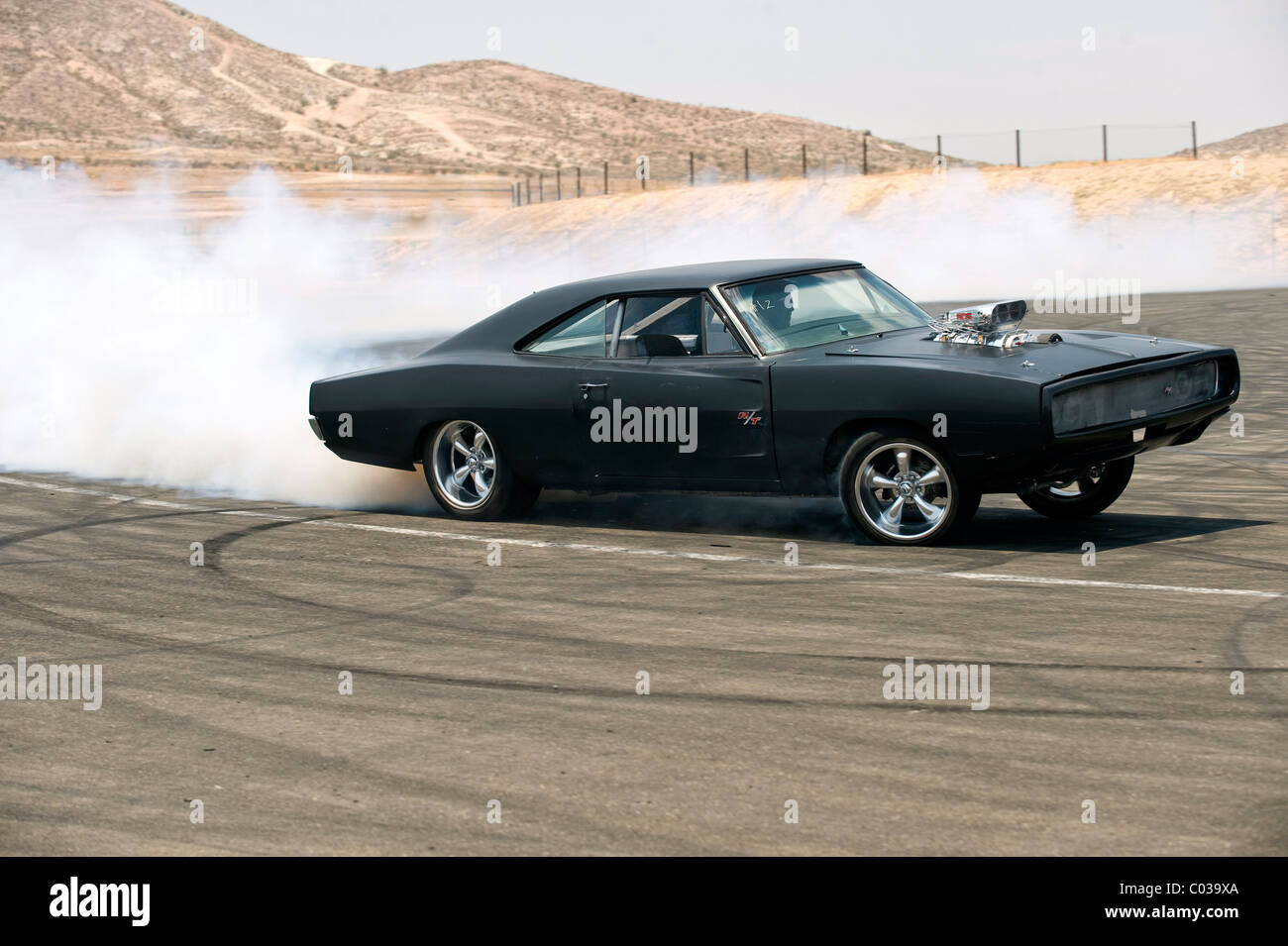 1970 DODGE CHARGER FAST & FURIOUS; THE FAST AND THE FURIOUS 4 (2009) Stock Photo