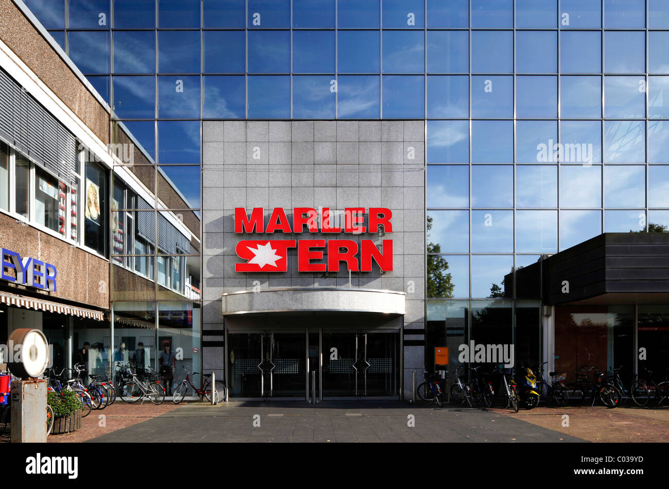 Marler Stern shopping centre, Marl, Ruhr Area, North Rhine-Westphalia, Germany, Europe - Stock Image