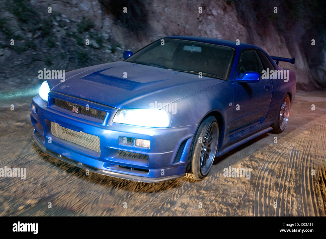 1998 Nissan Skyline Er34 Fast Furious The Fast And The Furious 4 Stock Photo Alamy