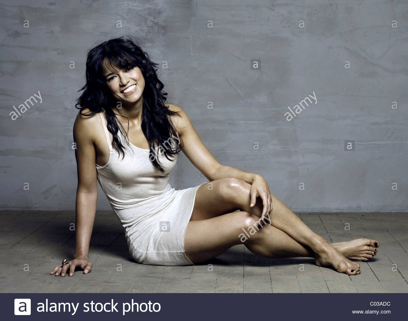 MICHELLE RODRIGUEZ FAST & FURIOUS; THE FAST AND THE FURIOUS 4 (2009) - Stock Image
