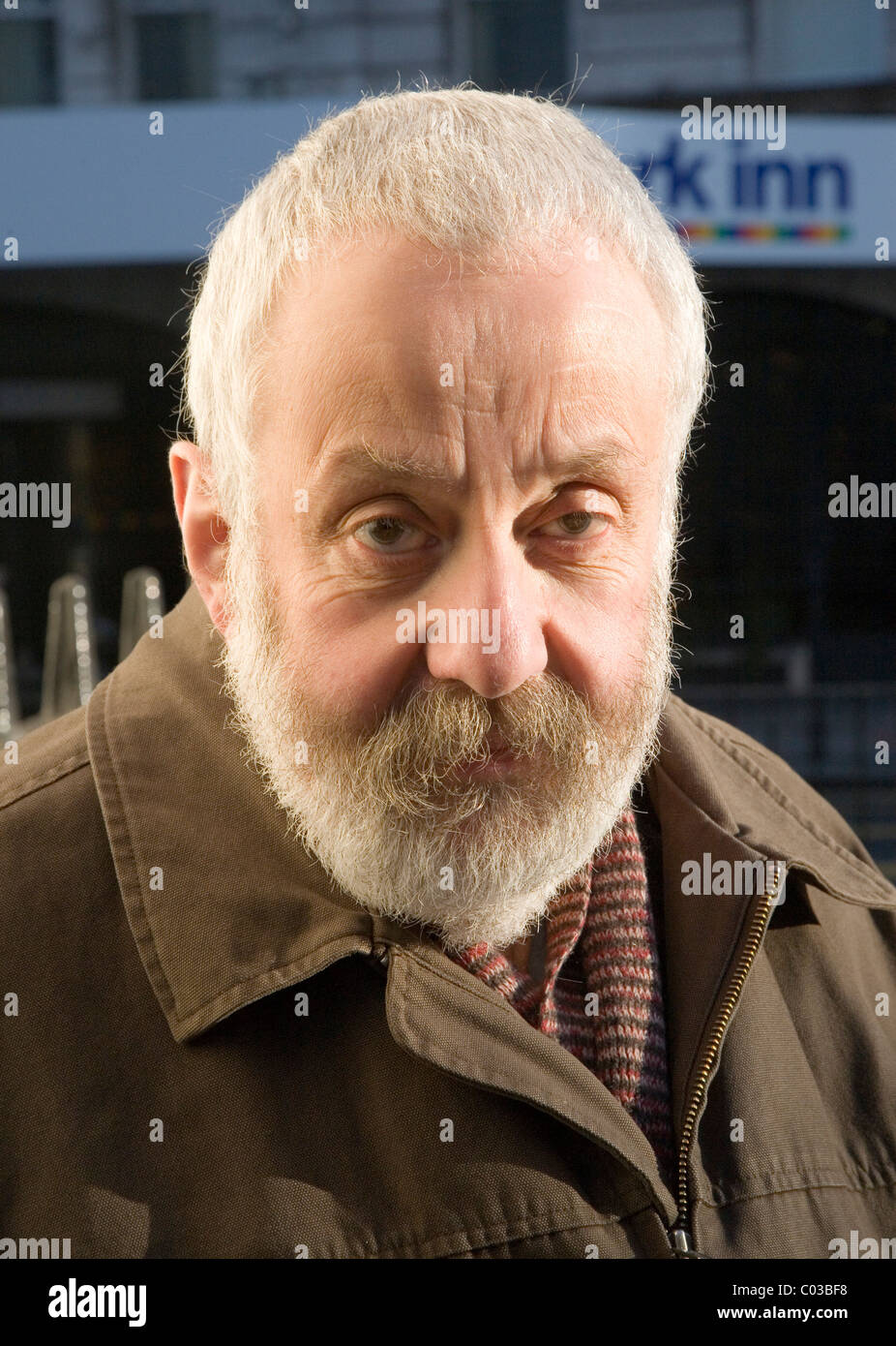 Mike Leigh-Film Director - Stock Image