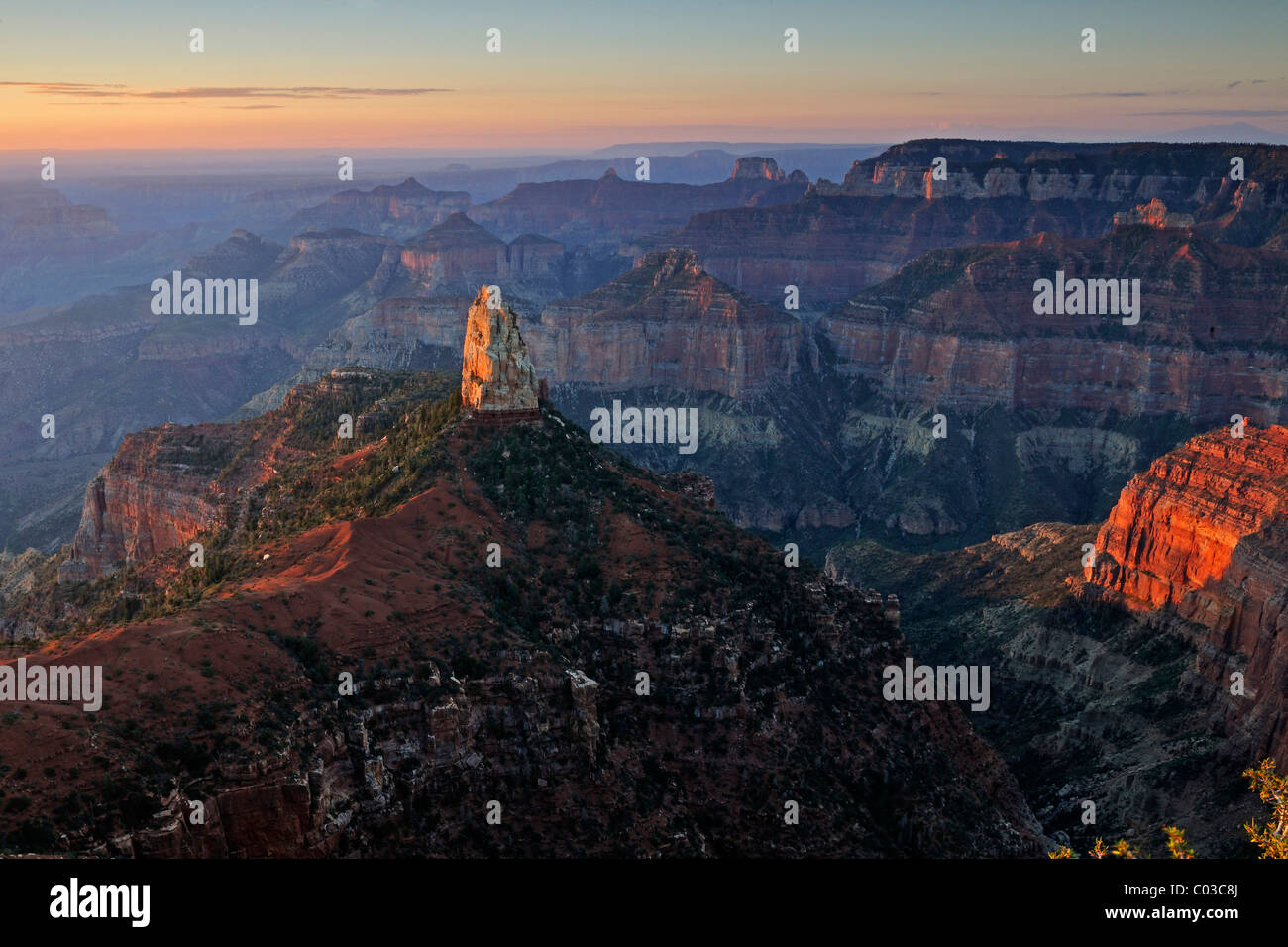 Point Imperial Grand Canyon Stock Photos & Point Imperial Grand ...