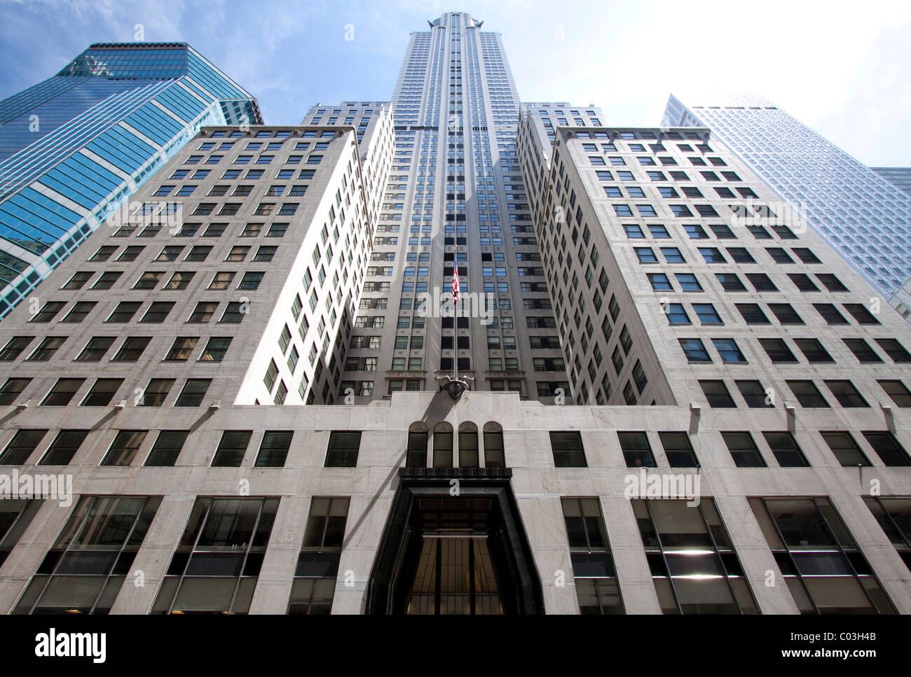 Chrysler Building, Manhattan, New York, USA - Stock Image