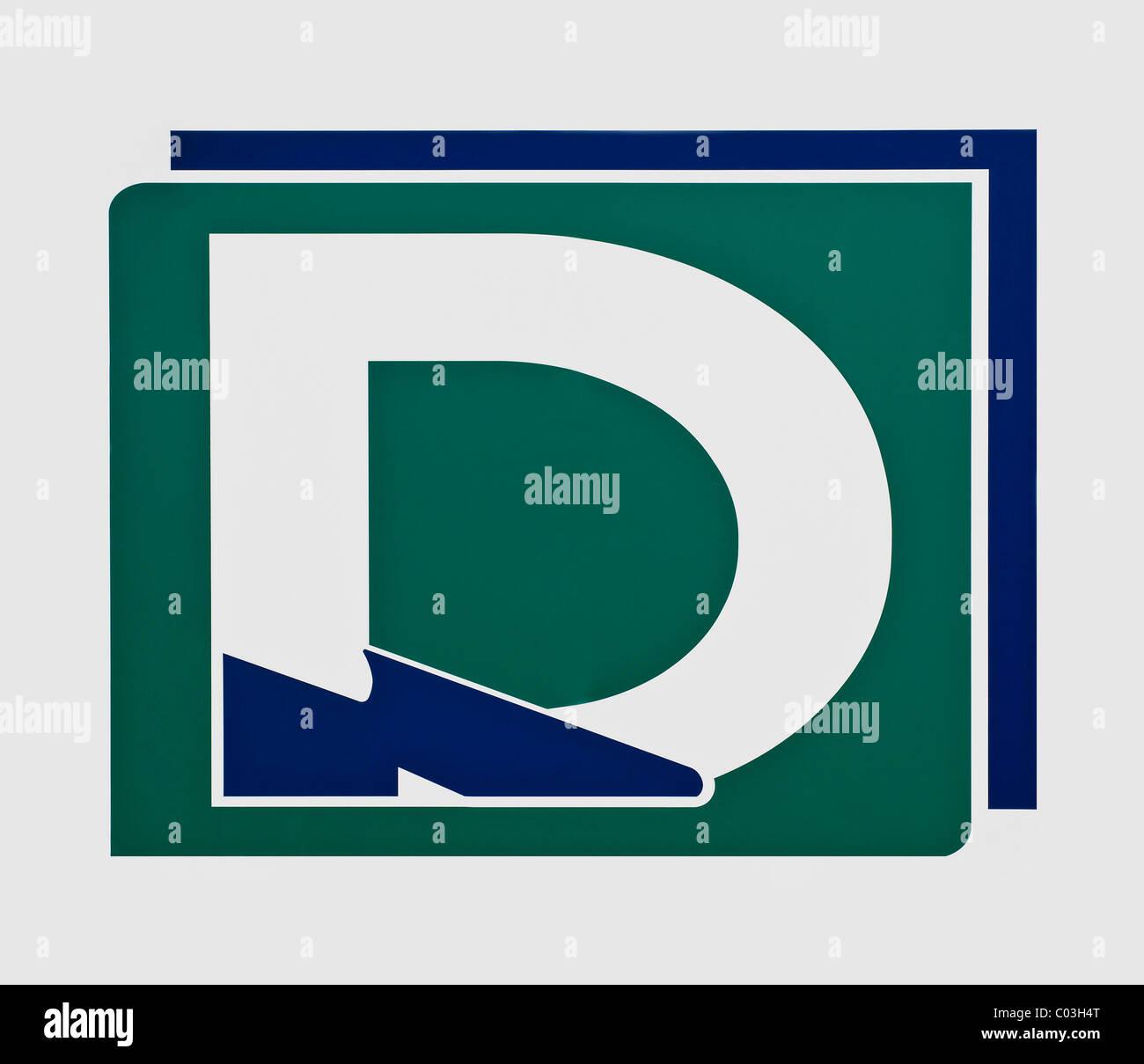 Logo, Deichmann Shoes - Stock Image