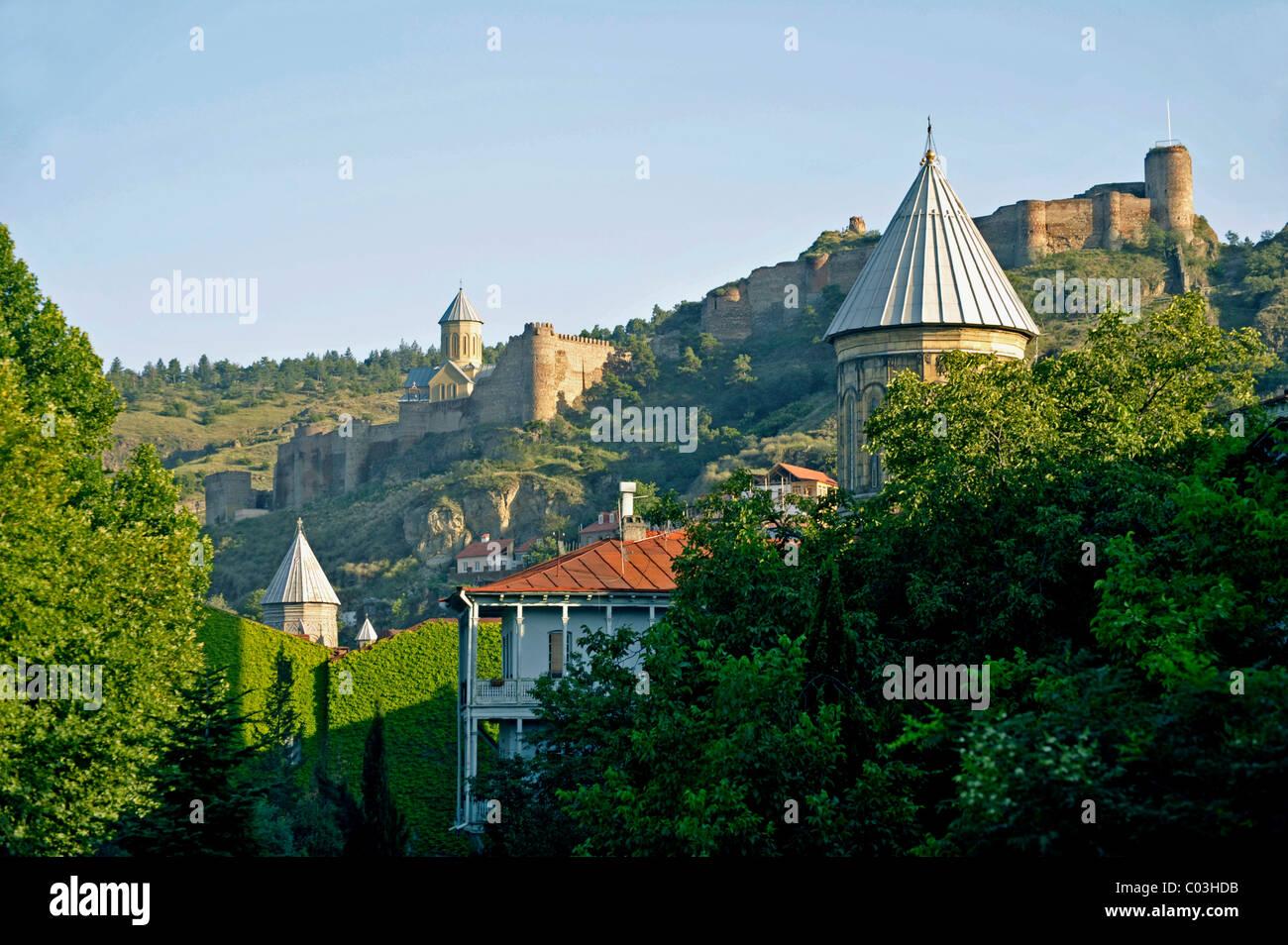Narikala Fortress, Tbilisi, Georgia, Western Asia - Stock Image