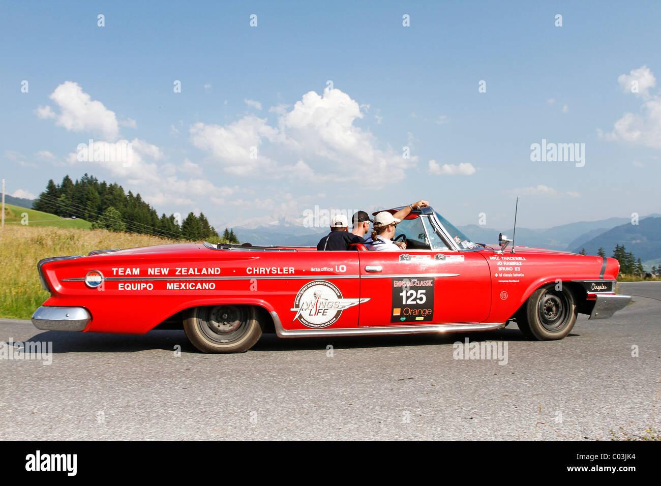 Chrysler 300 Built In 1962 Ennstal Classic 2010 Vintage Car Rally