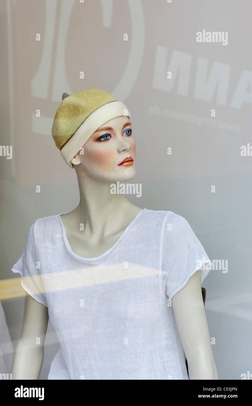 Mannequin, Munich, Bavaria, Germany, Europe - Stock Image