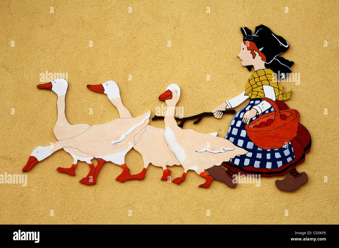 Geese Girl Stock Photos & Geese Girl Stock Images - Alamy