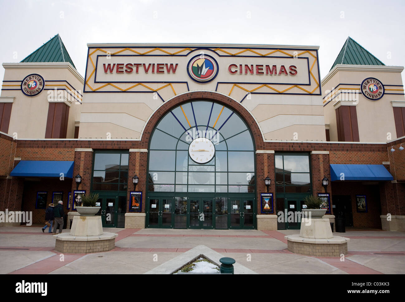 A Regal Cinemas movie theater.  - Stock Image