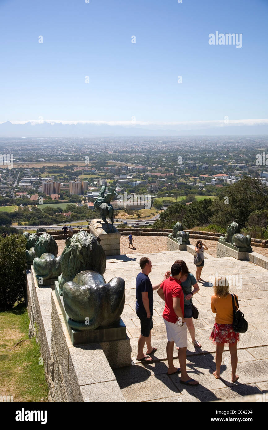 Rhodes Memorial in Cape Town Stock Photo