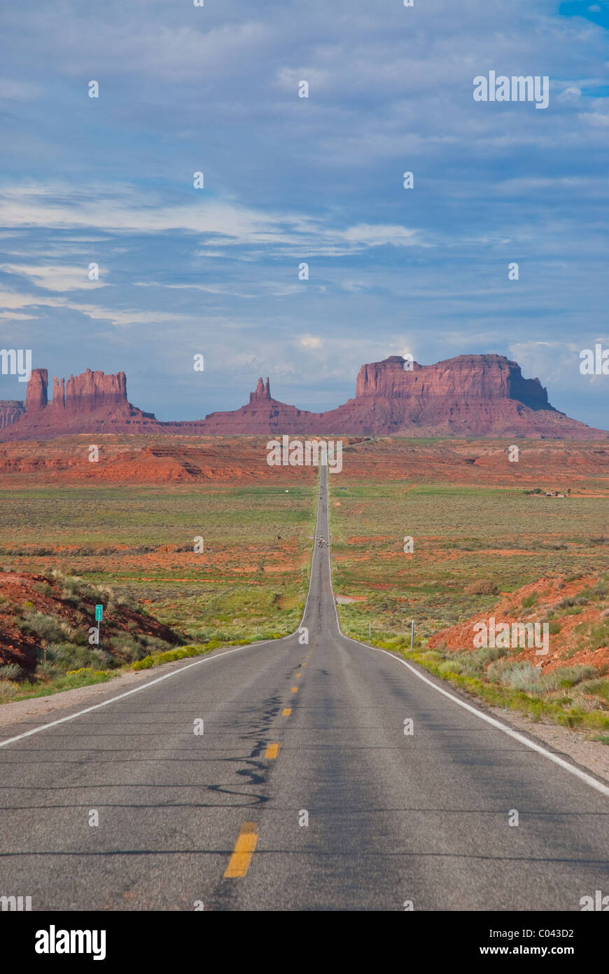 World famous Monument Valley - Stock Image
