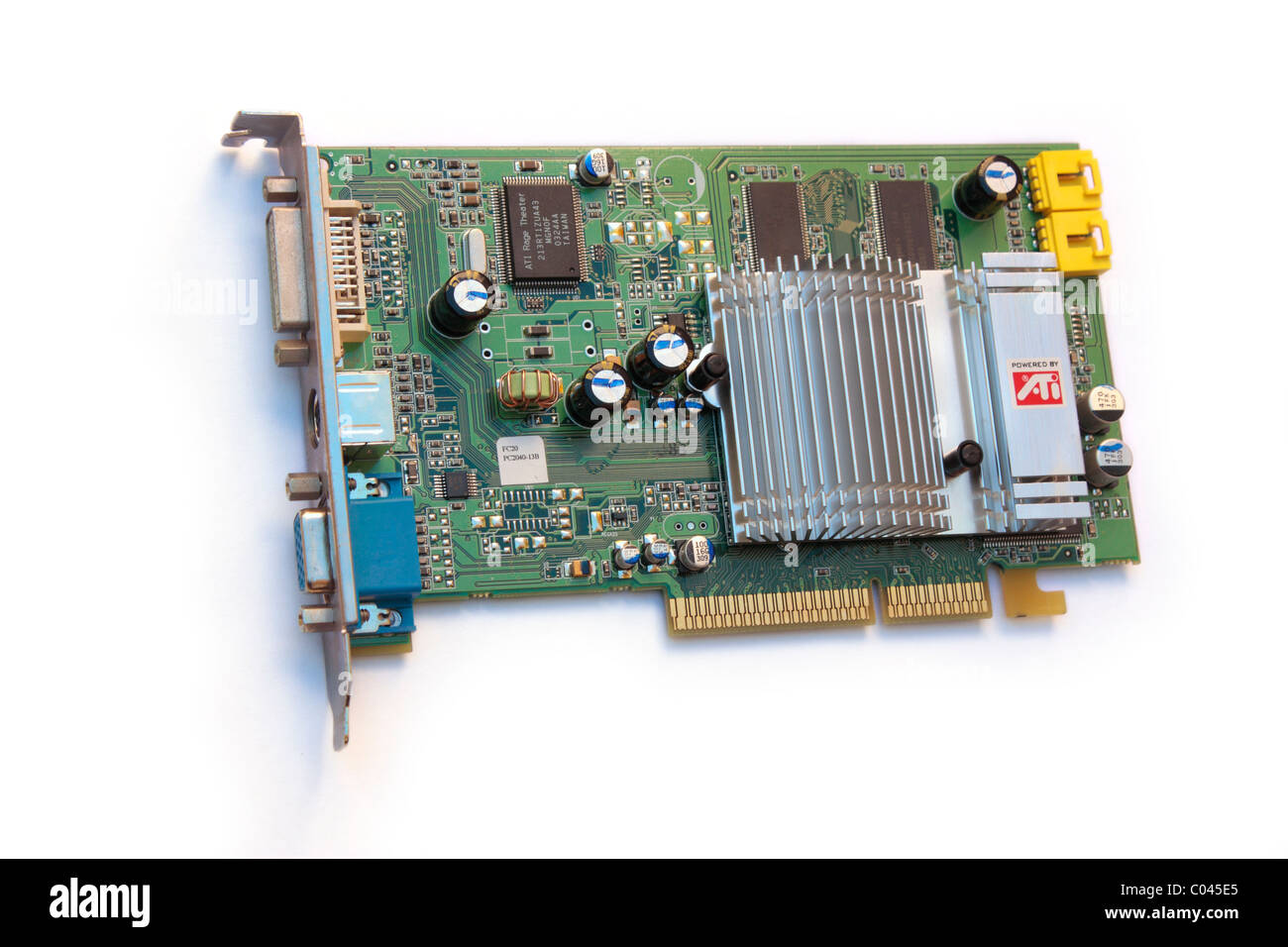 Computer graphics card. Editorial use only. Stock Photo