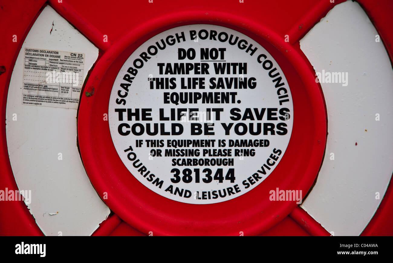 Life saver - Stock Image