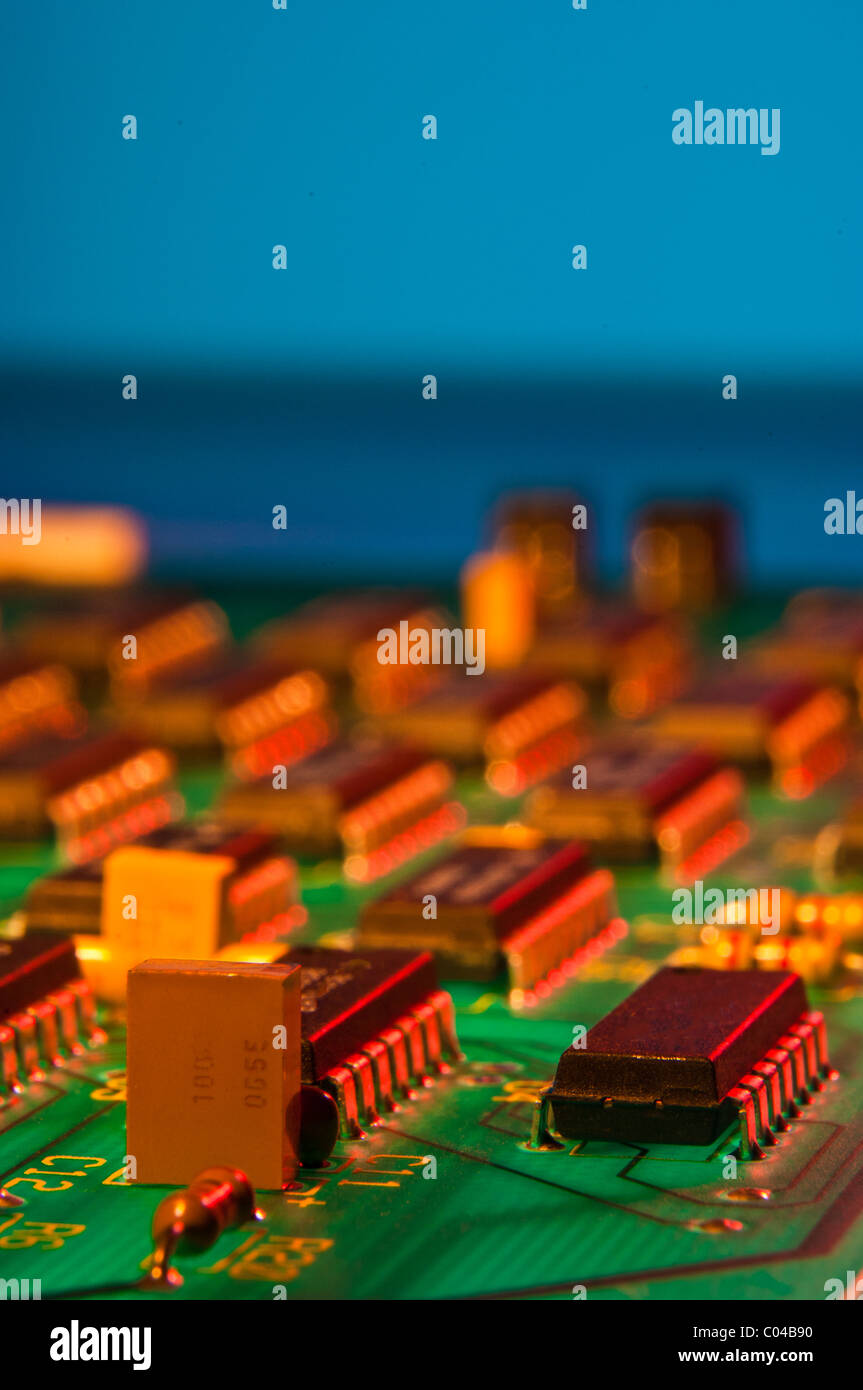 Circuit Trace Stock Photos & Circuit Trace Stock Images - Alamy