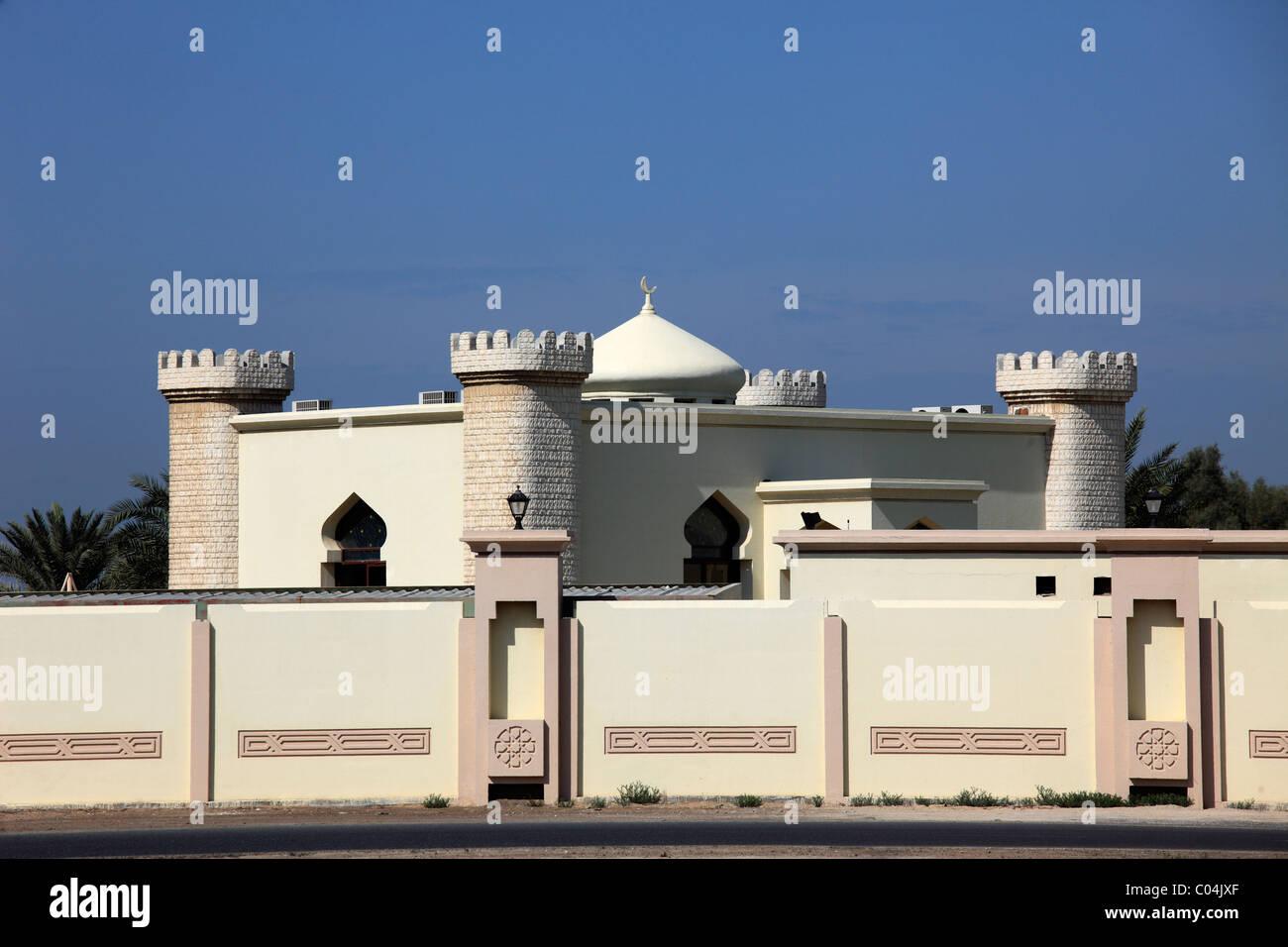 United Arab Emirates, Ajman, a part of the Diwan, Ruler's Palace, - Stock Image