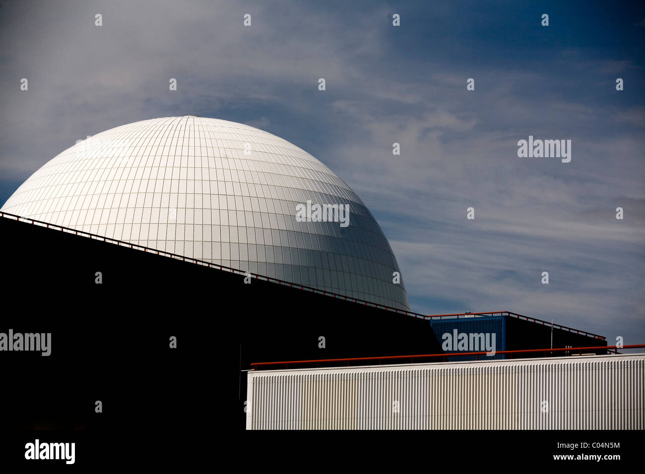 Sizewell Nuclear power station Suffolk - Stock Image