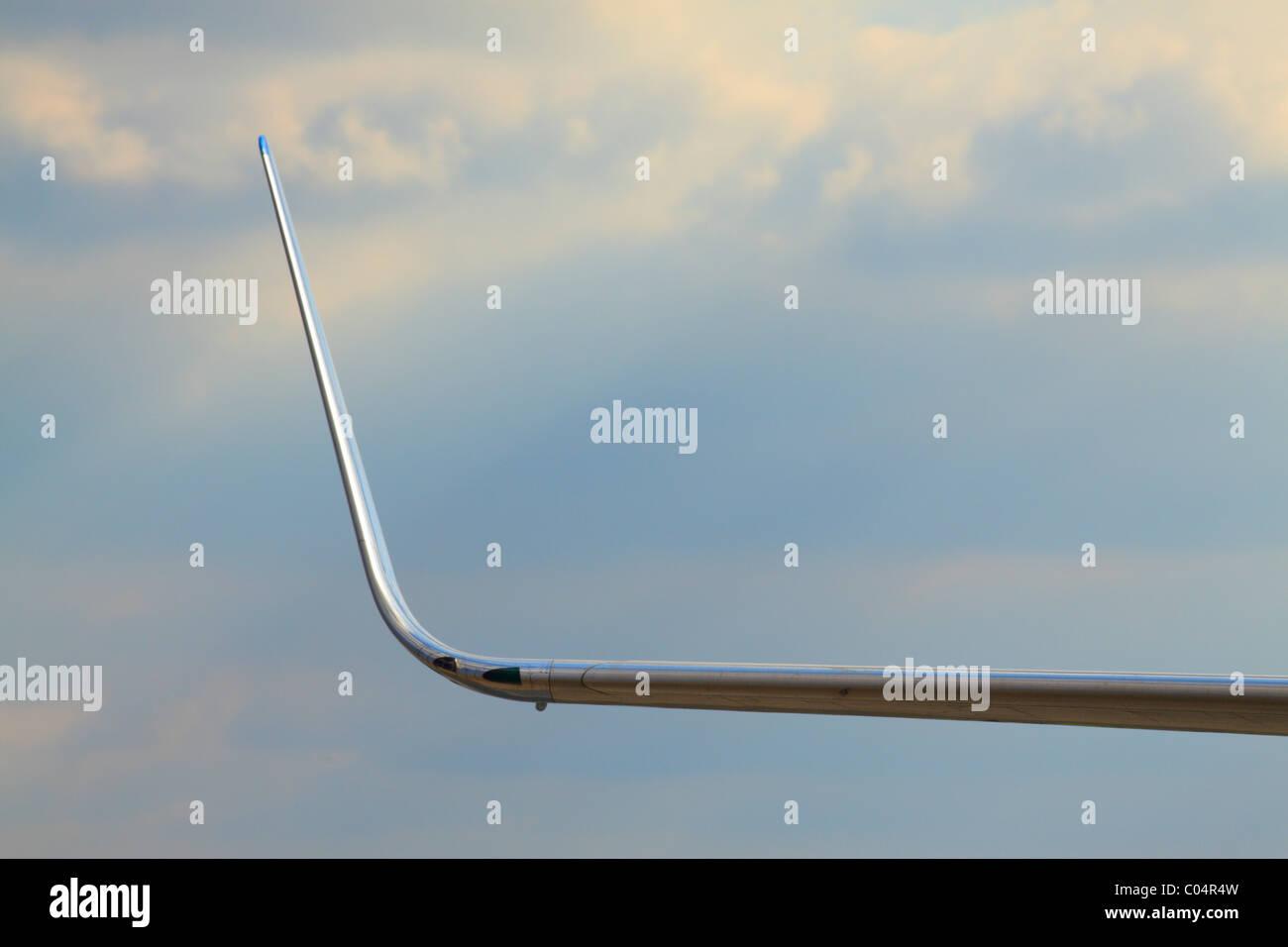 boeing 737  winglet - Stock Image