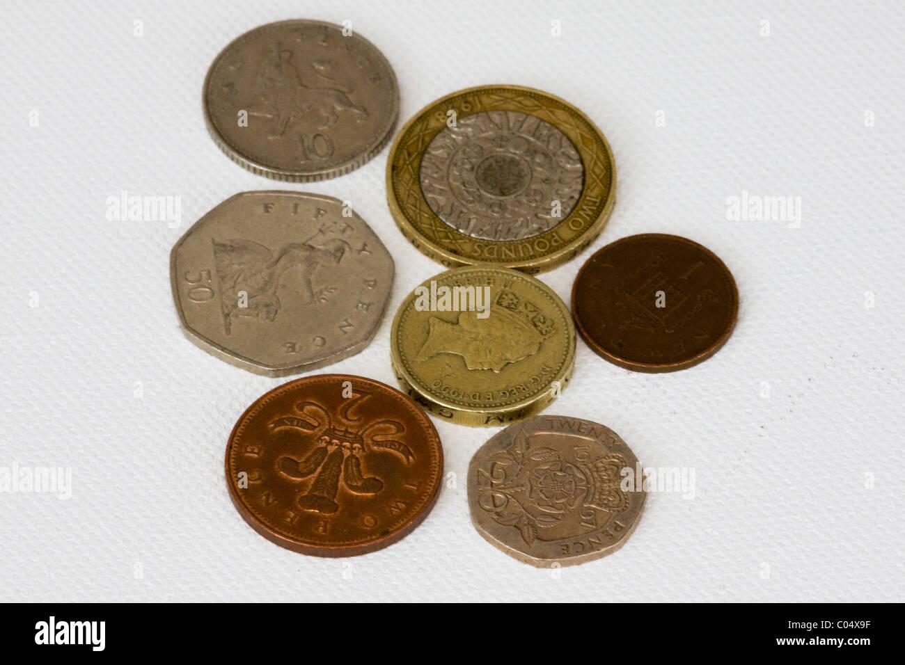 Pence Coin Queen Elizabeth Ii Stock Photos Amp Pence Coin