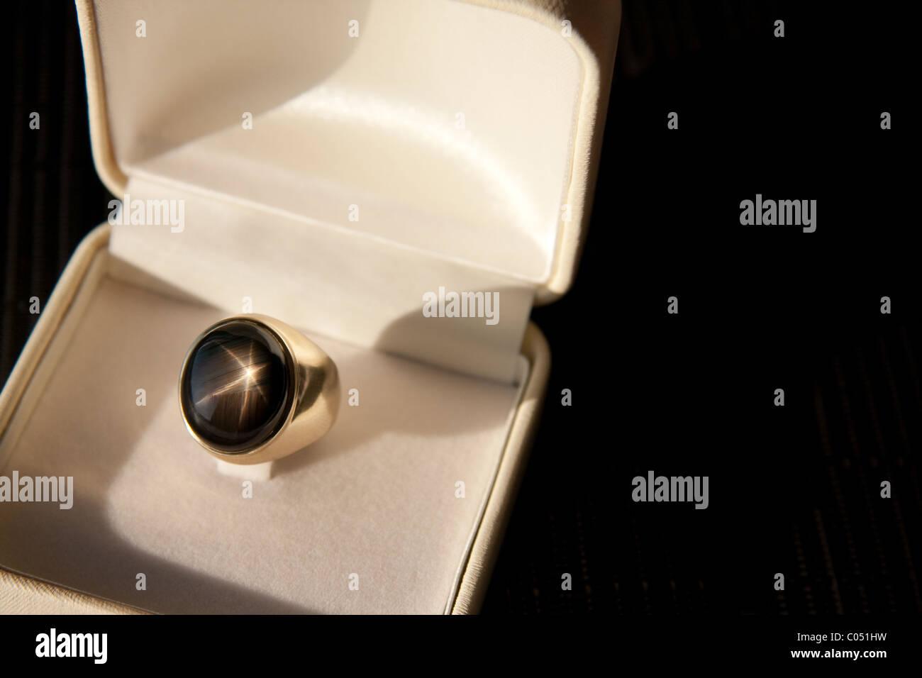Star Sapphire Gem - Stock Image