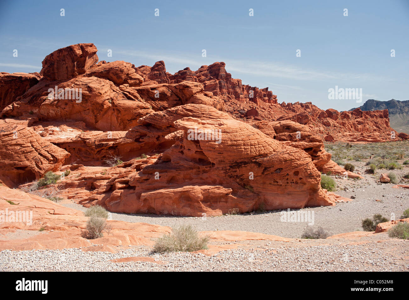 The Beehives at Valley of Fire State Park - Stock Image