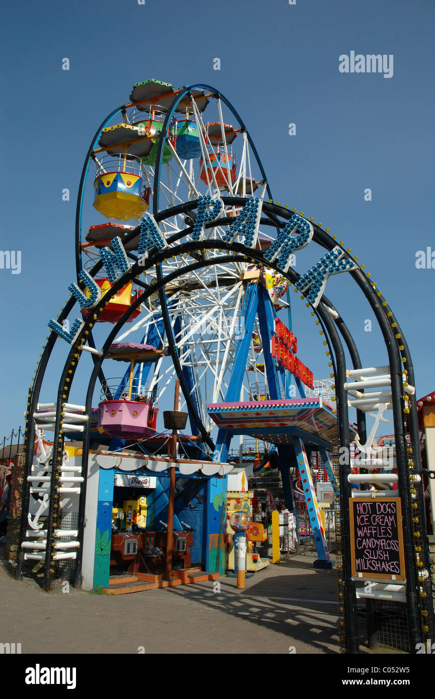 Luna Park, Scarborough, North Yorkshire, England, UK - Stock Image