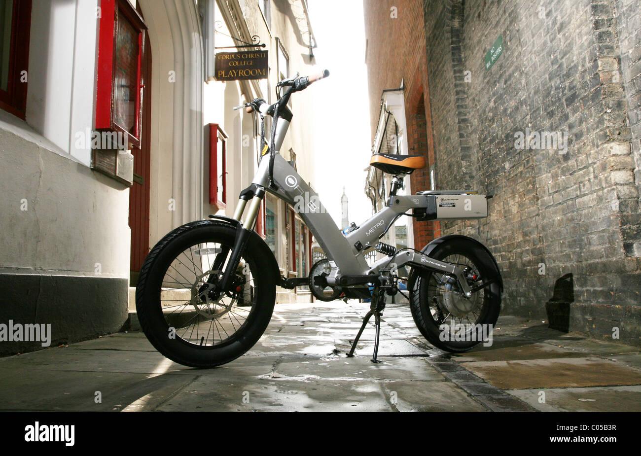 A2b Electric Bike >> The Ultra Motor A2b Electric Bicycle Stock Photo 34539227