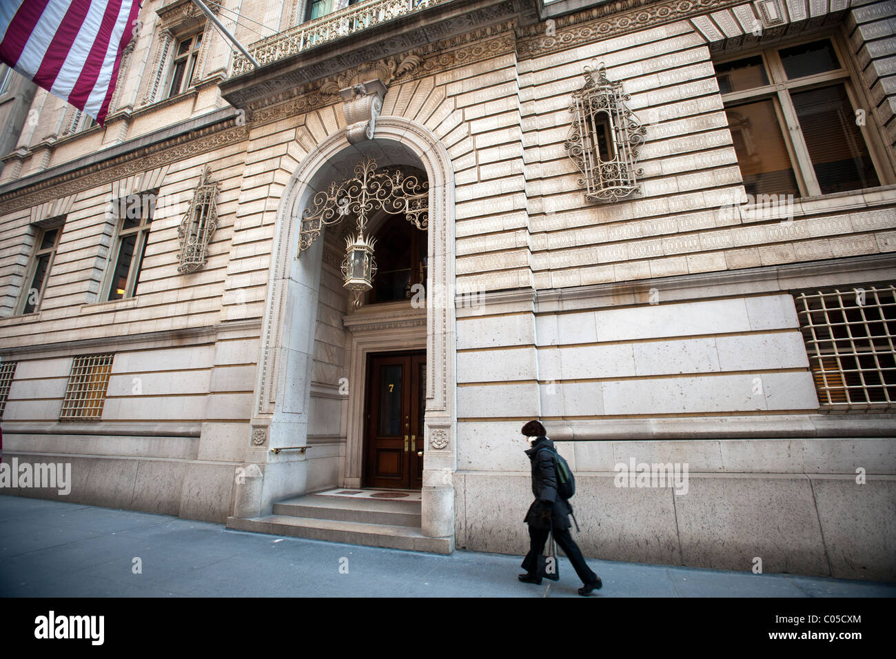 The Century Club in Midtown Manhattan - Stock Image