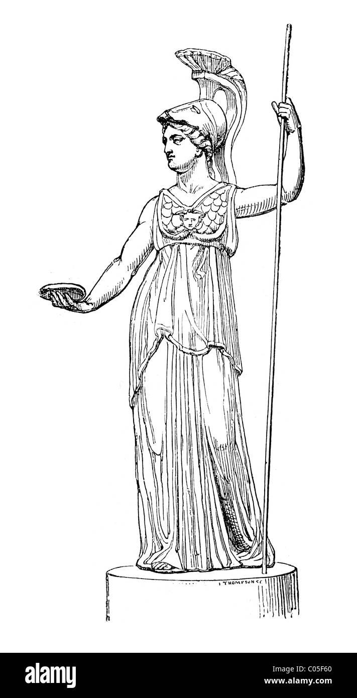 Athena Greek Goddess Of Wisdom Warfare Strategy Heroic
