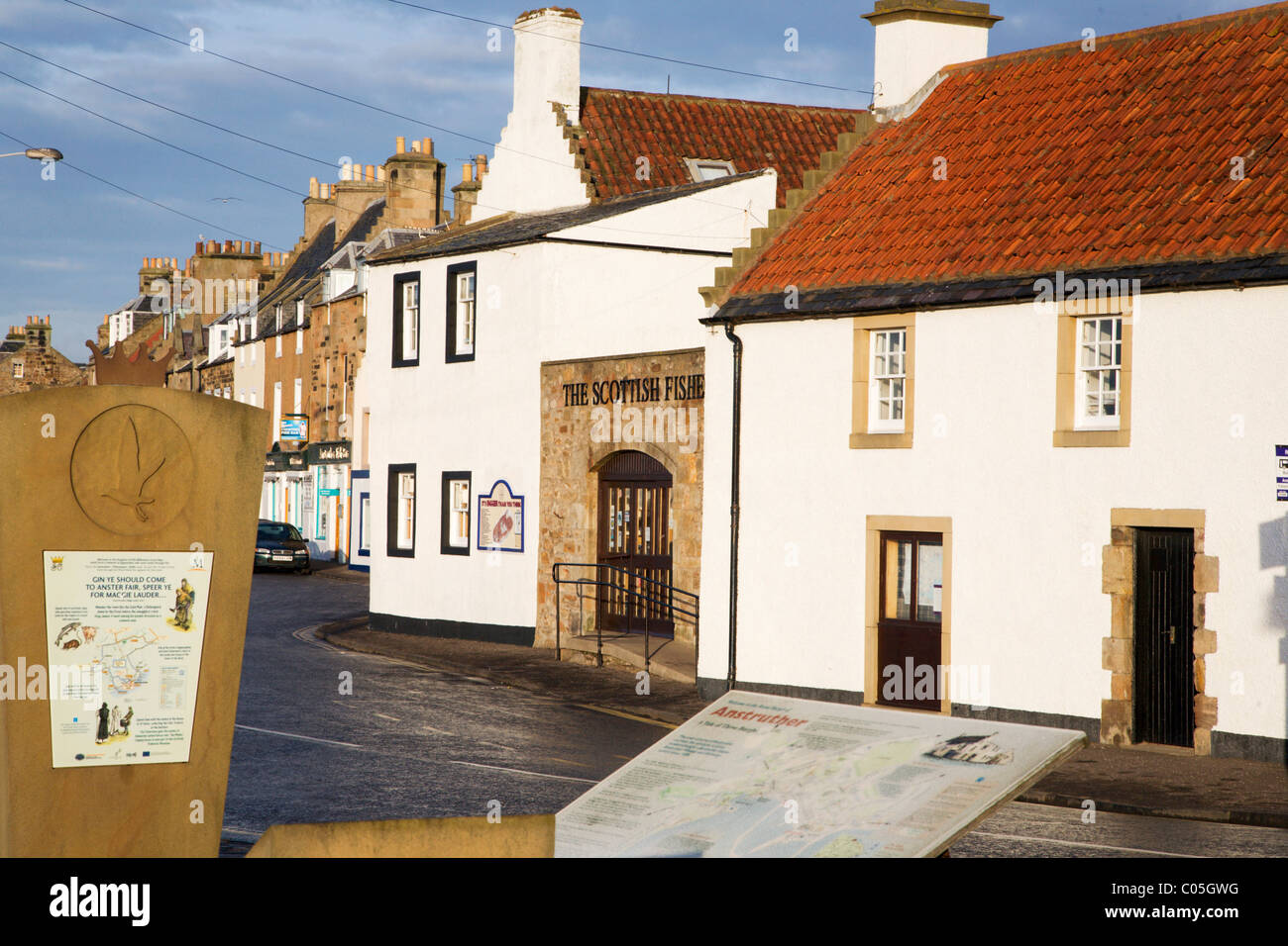 Scottish Fisheries Museum Anstruther Fife Scotland - Stock Image