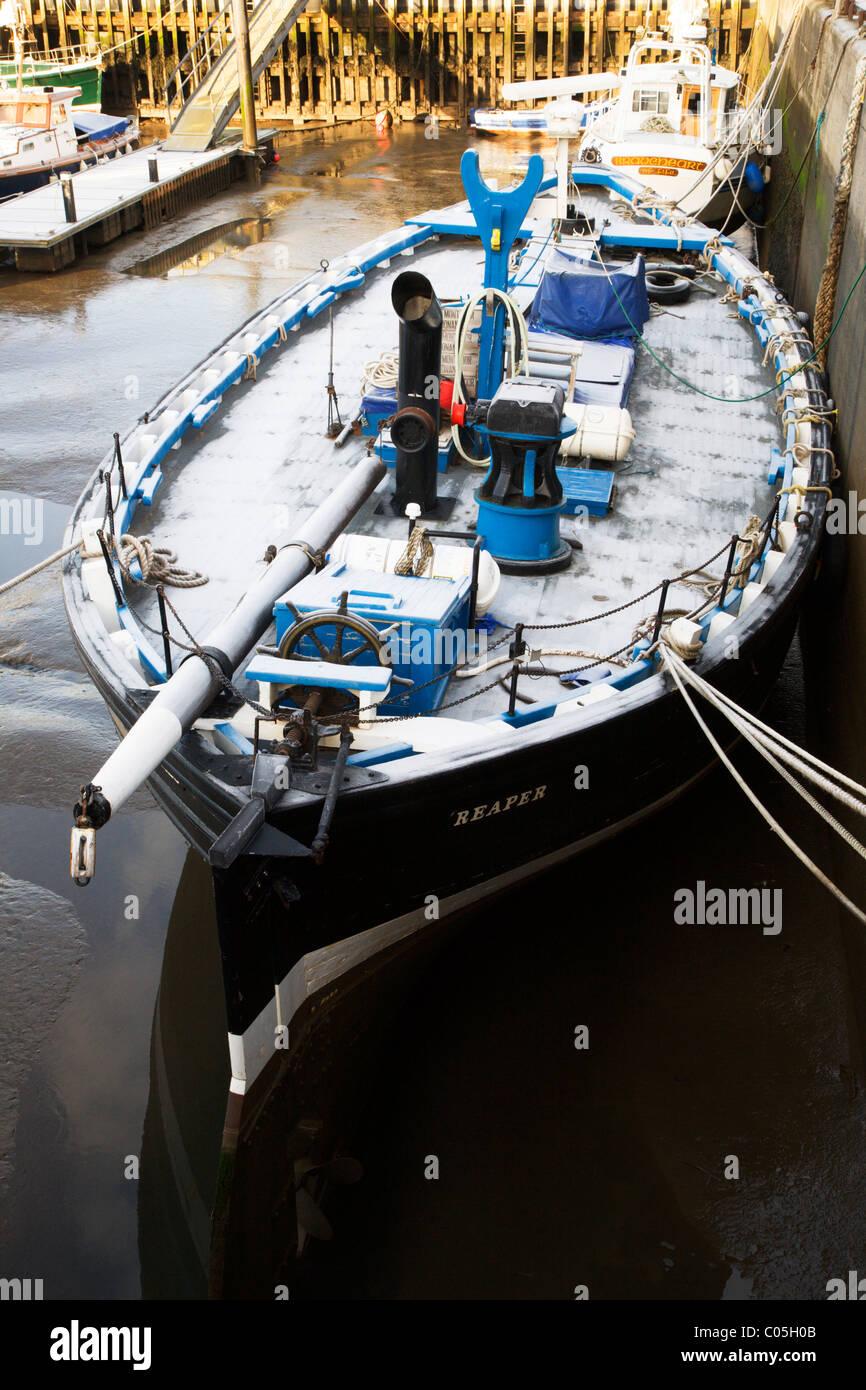 Reaper Sailing Herring Drifter Anstruther Fife Scotland - Stock Image