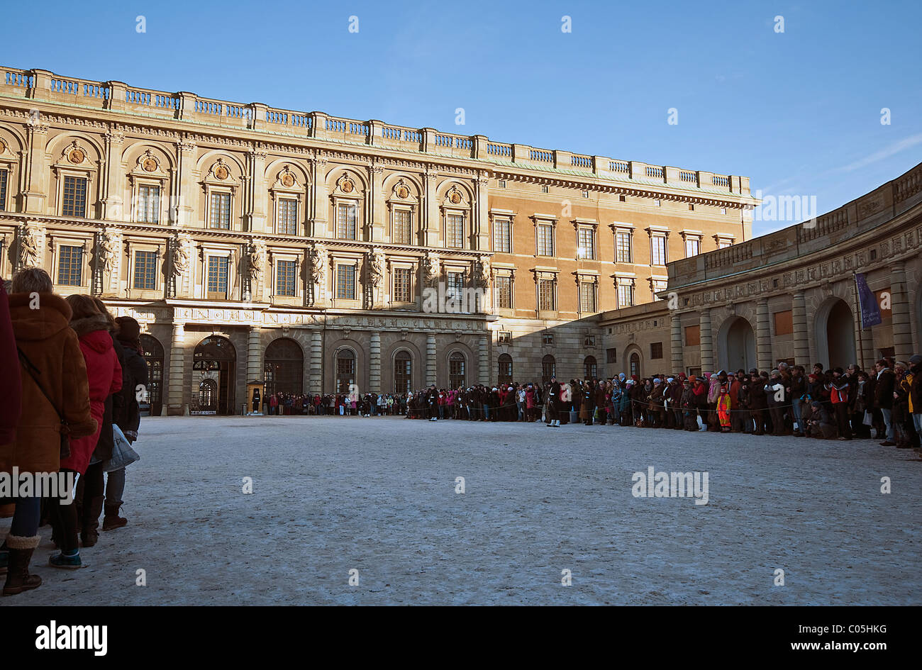 Royal Palace Facade In Stockholm, Sweden Stock Image - Image of famous,  exterior: 132079553