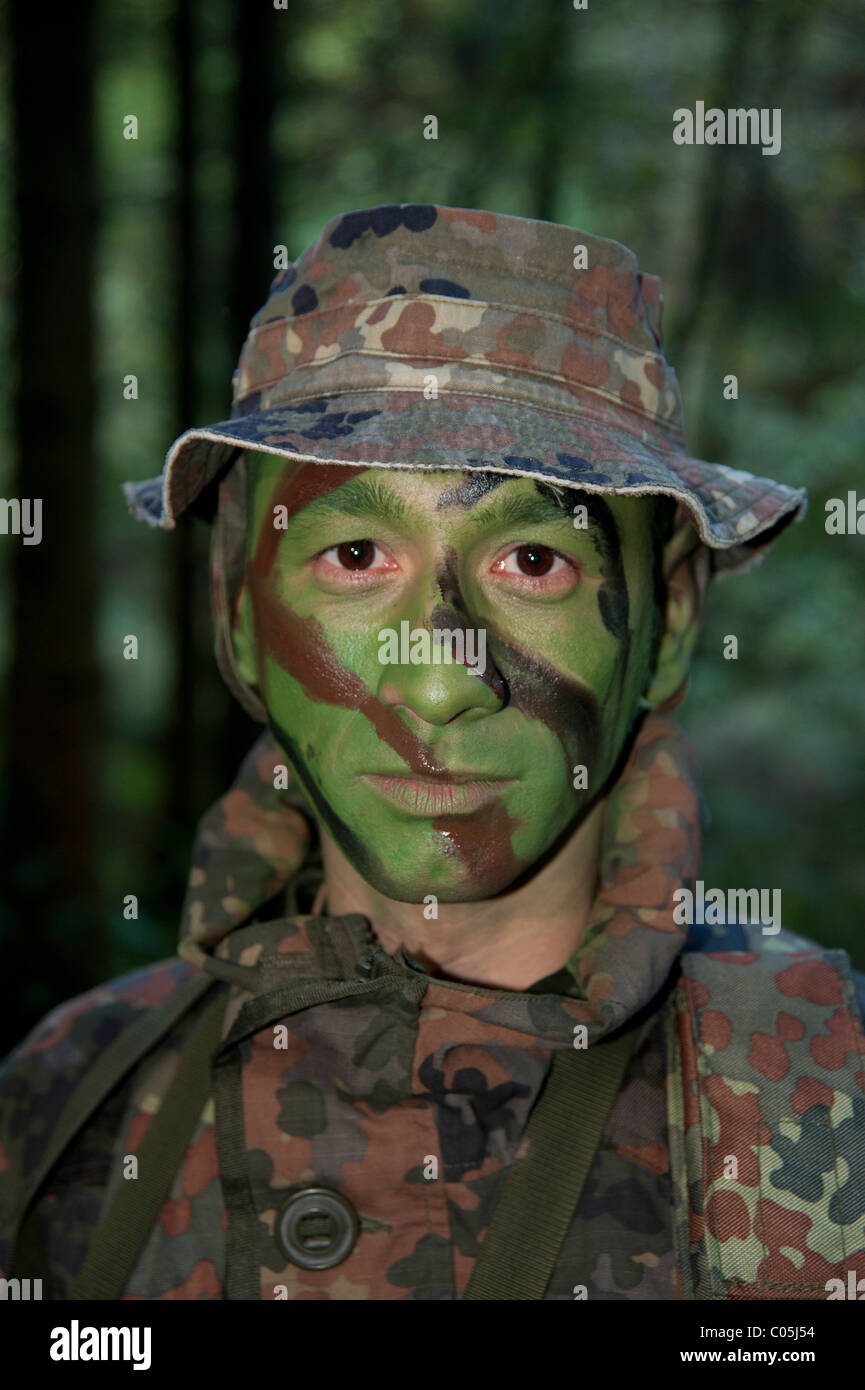 Exercise CAMBRIAN PATROL is the premier patrolling event of the British Army which is held in Wales and hosted by - Stock Image