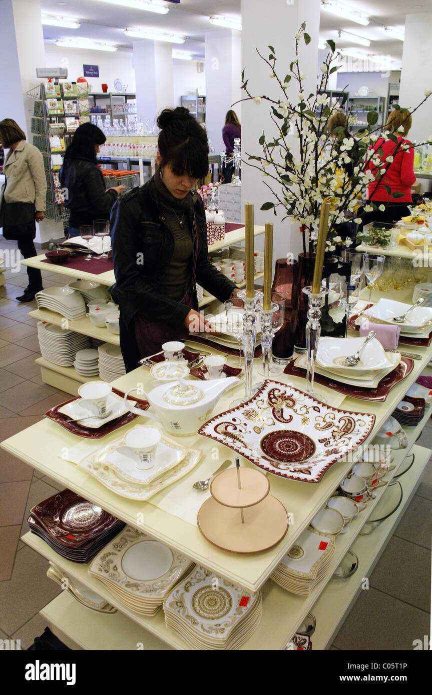 Villeroy Boch China Shop Factory Outlet At Wadgassen Germany