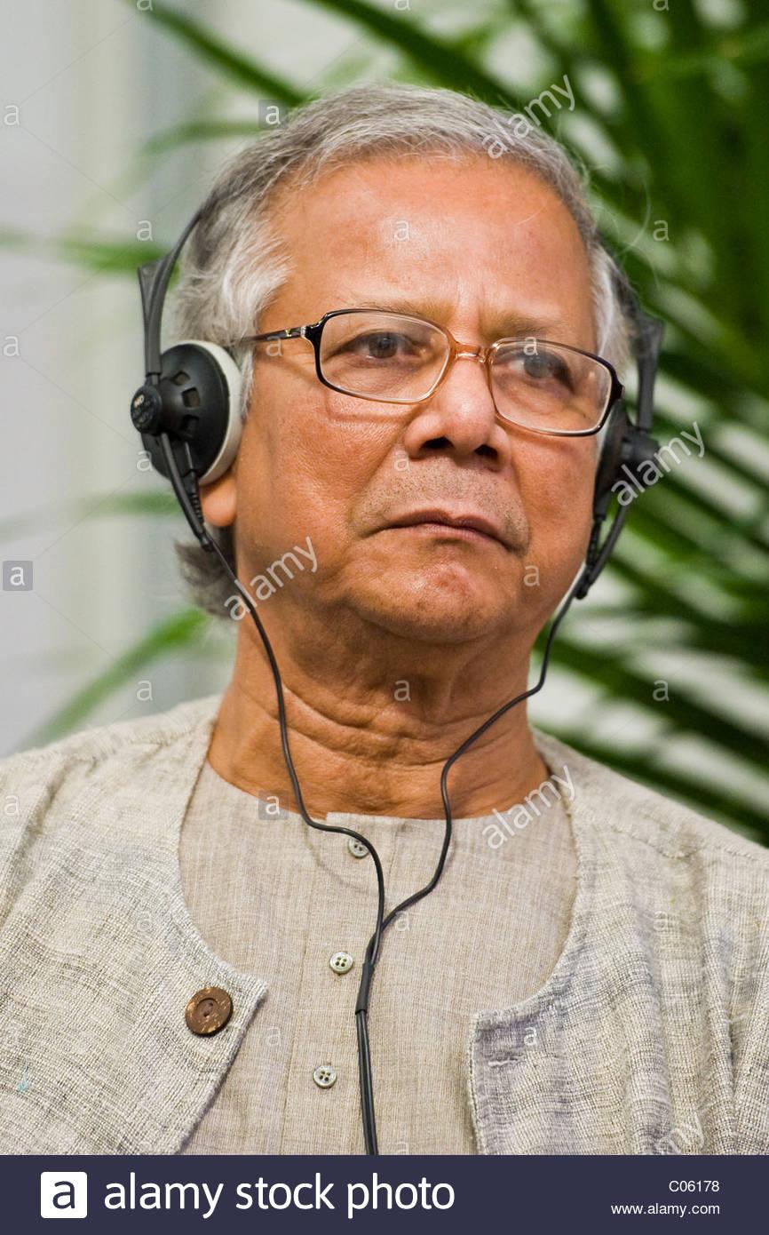 muhammad yanus, nobel peace prize 2010 - Stock Image