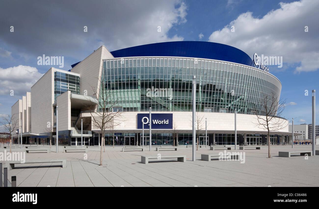 O2 World, multi-purpose arena, Friedrichshain, Berlin, Germany, Europe Stock Photo