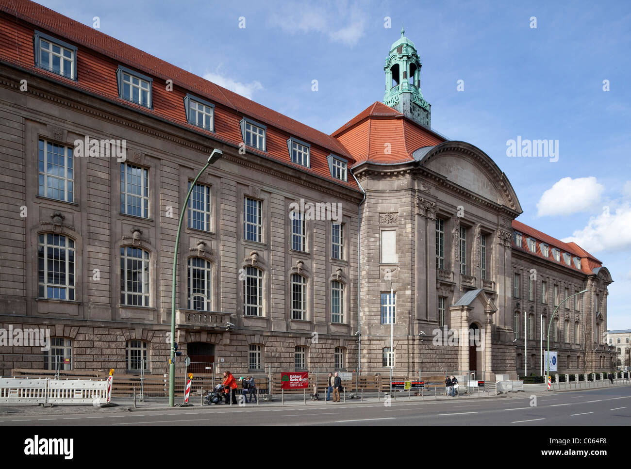 Federal Ministry of Economics and Technology, Berlin-Mitte, Berlin, Germany, Europe - Stock Image