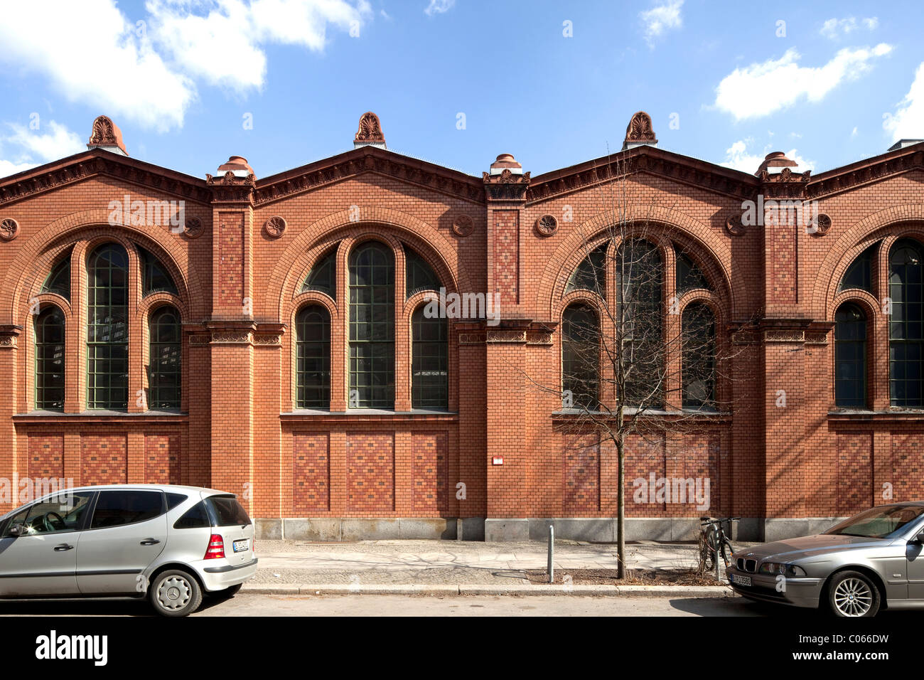 Markthalle Moabit, market hall, Tiergarten, Berlin, Germany, Europe - Stock Image