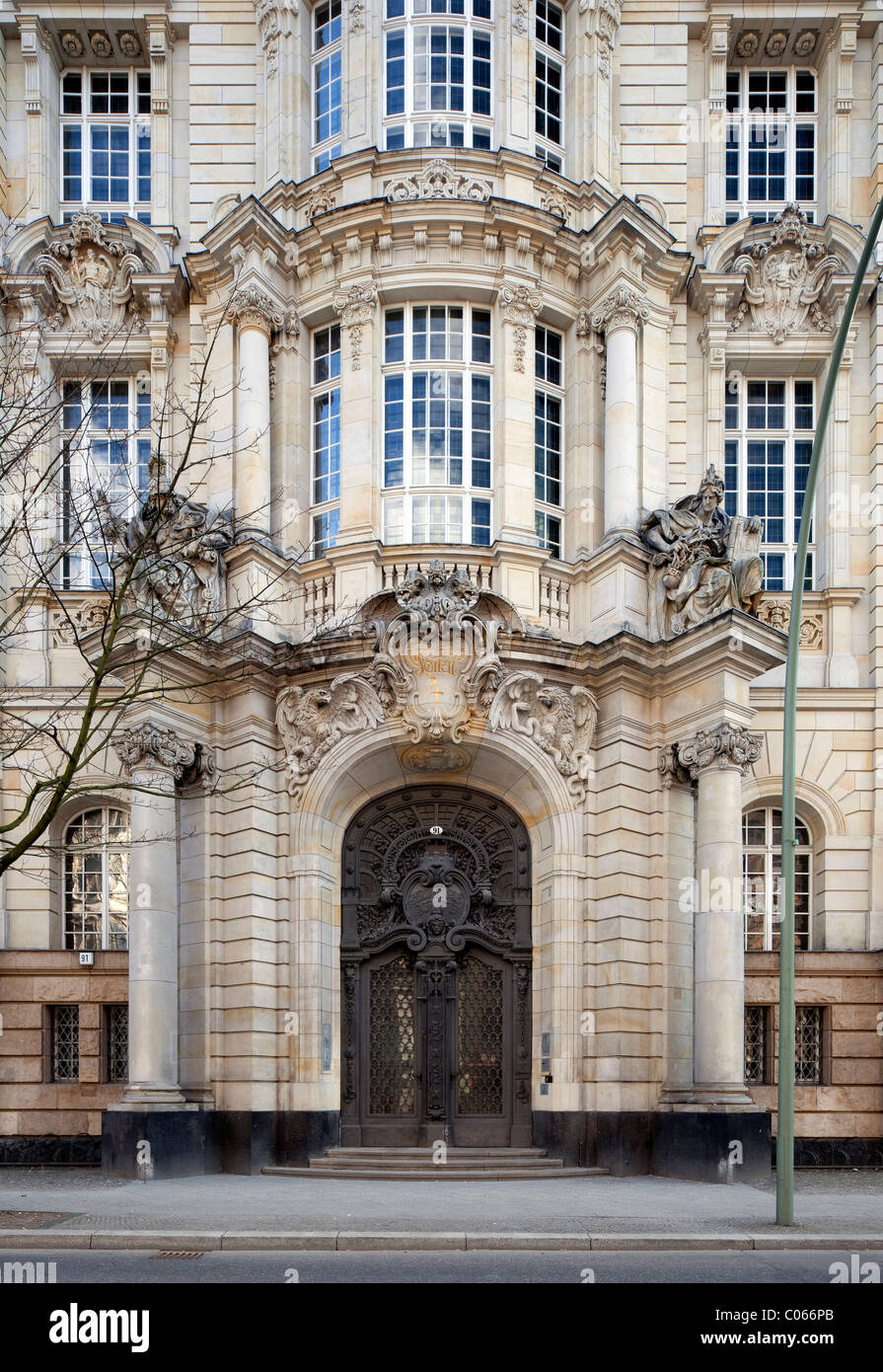 Berlin Criminal Court, District Court, Moabit, Tiergarten
