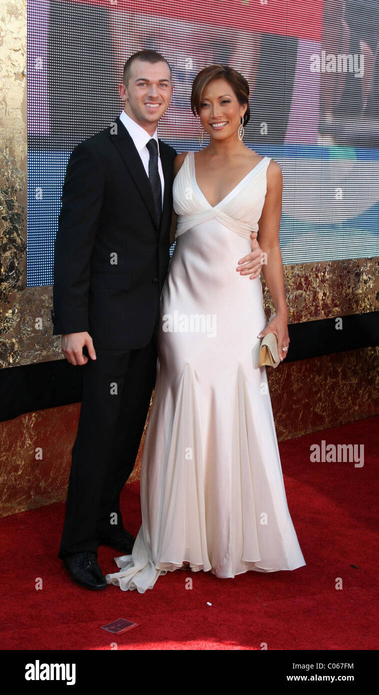 Carrie Ann Inaba Wedding.Carrie Ann Inaba And Guest The 59th Primetime Emmy Awards At The
