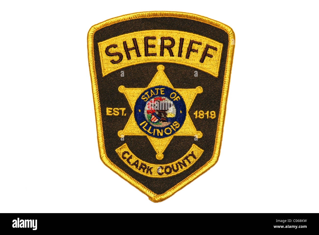 Clark County Sheriff patch - Stock Image