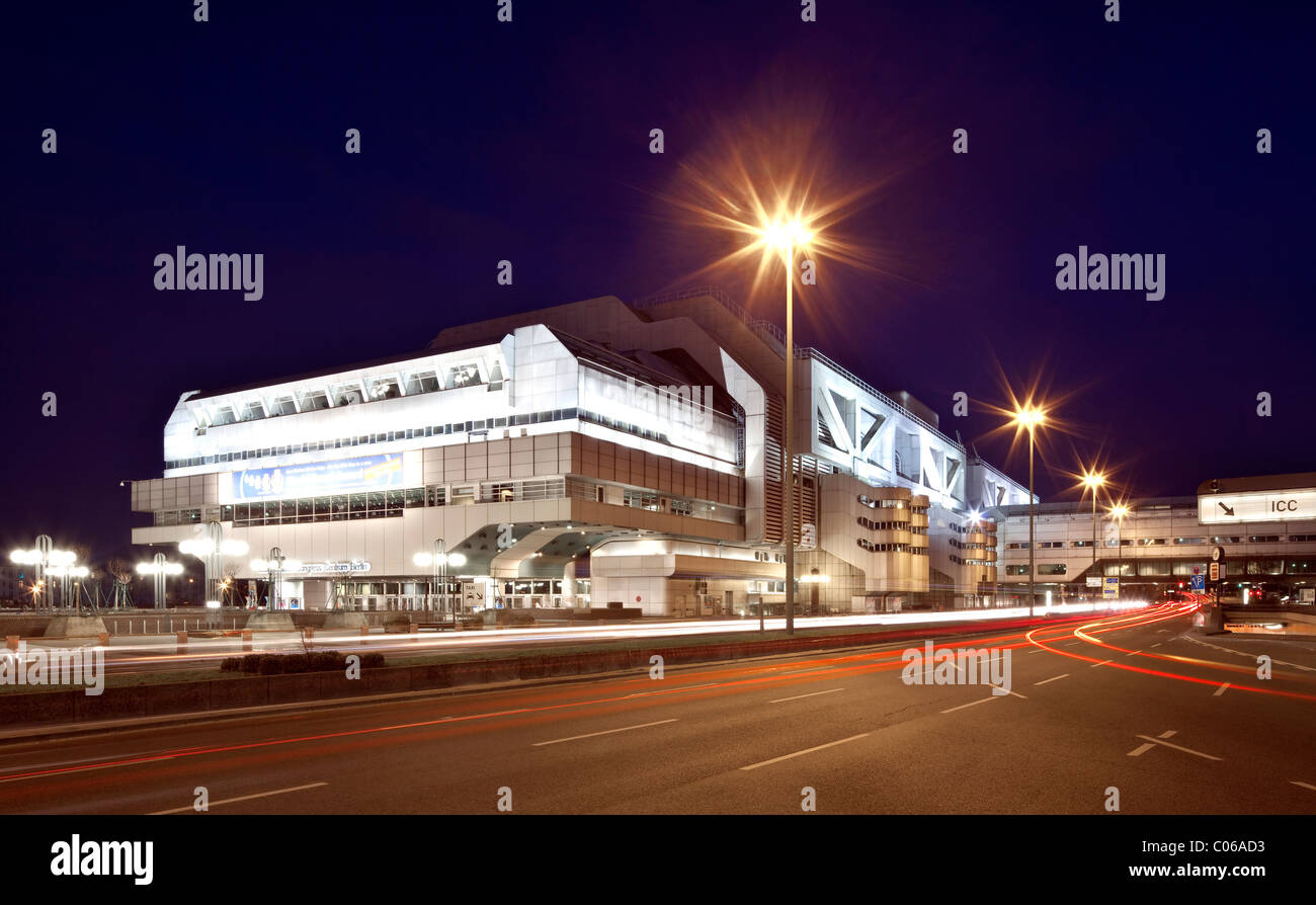 International Congress Centre, ICC, Charlottenburg, Berlin, Germany, Europe - Stock Image