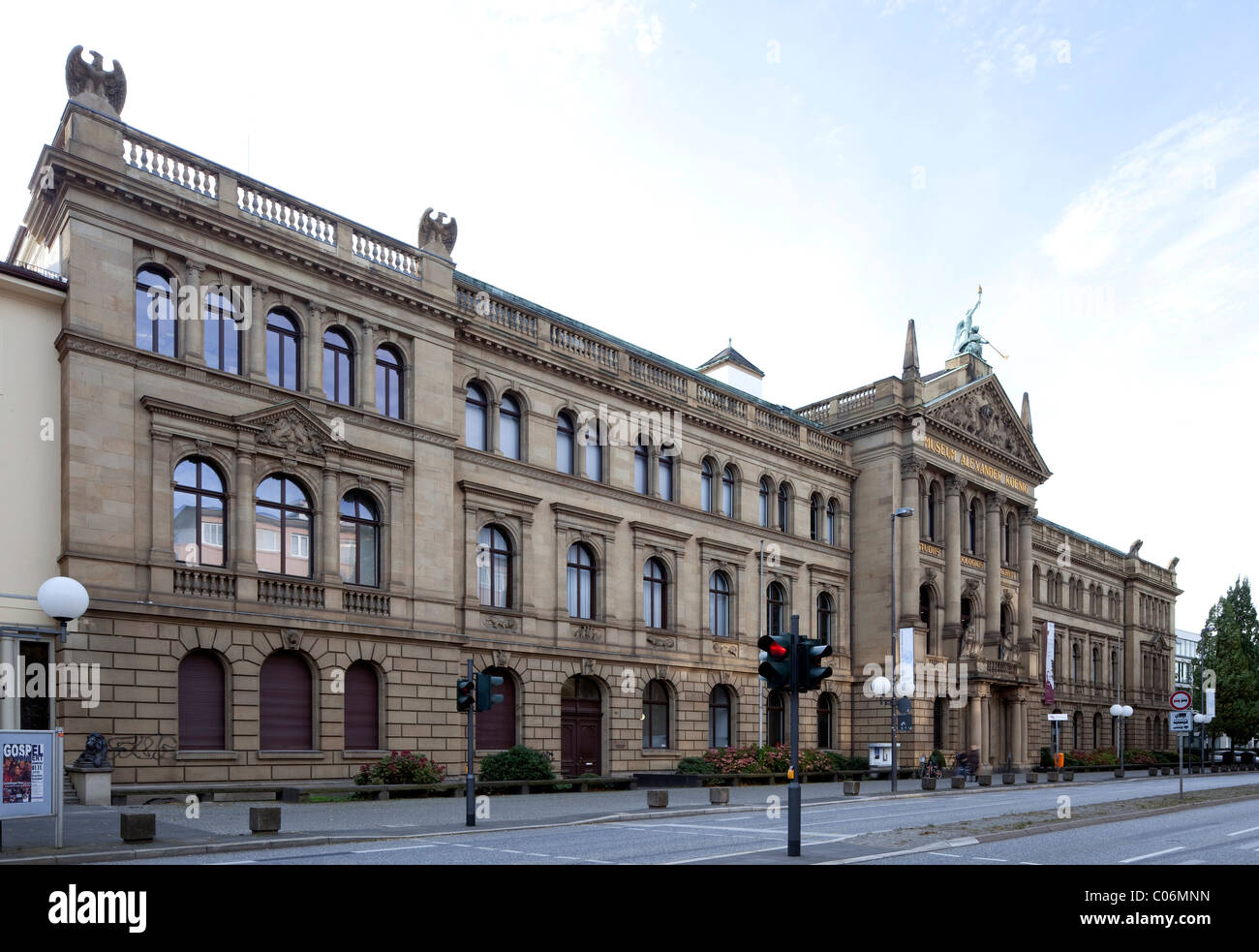 Alexander Koenig Museum, Zoological Research Institute, Natural History Museum, Bonn, Rhineland, North Rhine-Westphalia - Stock Image