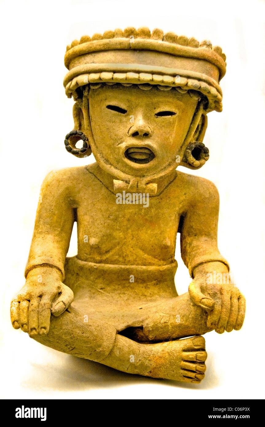 Maya Late Preclassic 400 BC 100 AC Mexico Guatemalan Guatemala  Mexican - Stock Image